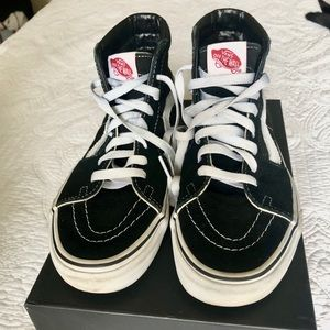 Vans Canvas SK8-HI High Top Sneakers